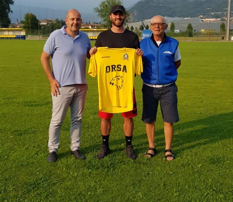 Luca Corradi all'Orsa Iseo Cortefranca